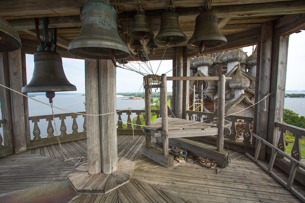 Звонница шатровой колокольни