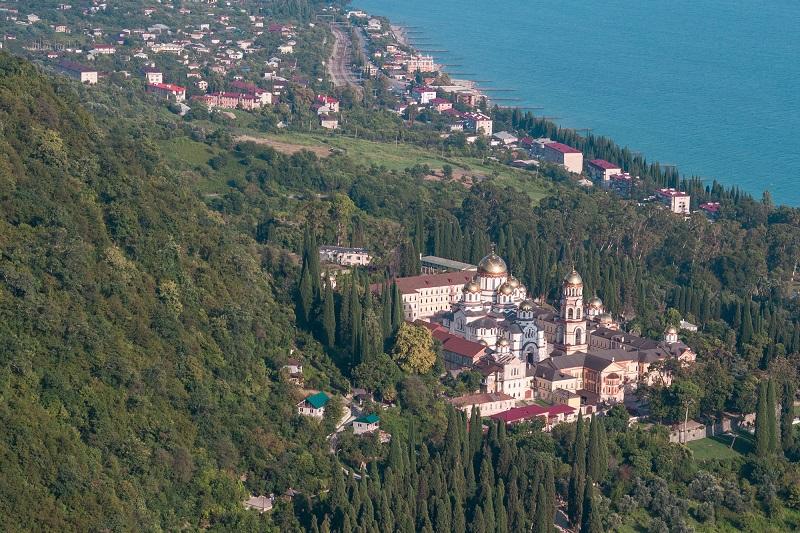 Достопримечательности Абхазии - Новый Афон