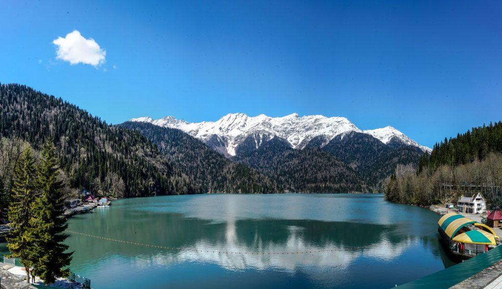 Самые красивые места Абхазии - Рица