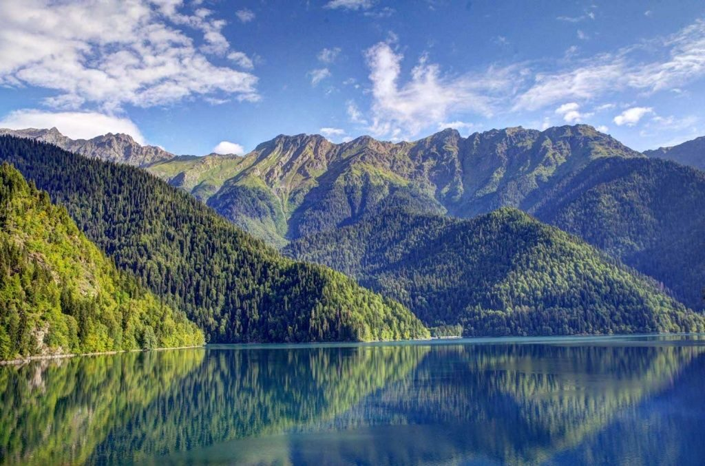 Самые красивые места Абхазии