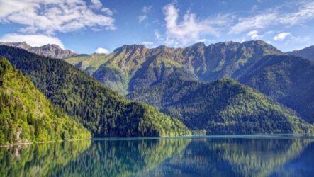 Самые красивые места Абхазии, созданные природой