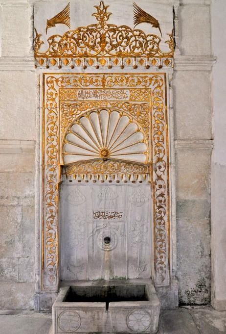 Золотой фонтан Бахчисарай