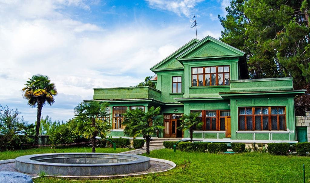 Достопримечательности Цандрипша -Дача Сталина на Холодной речке