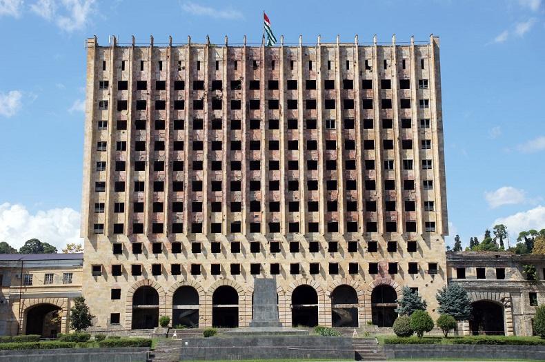 Дом Советов в Сухуми