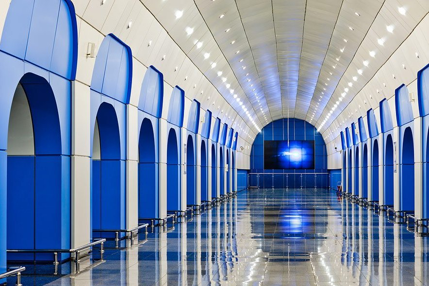 Метро Алматы станция Байконур
