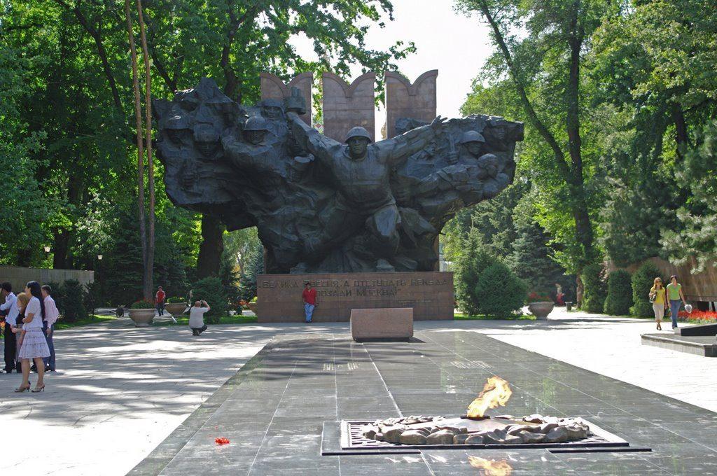Парк 28 гвардейцев-панфиловцев, Алма-Ата