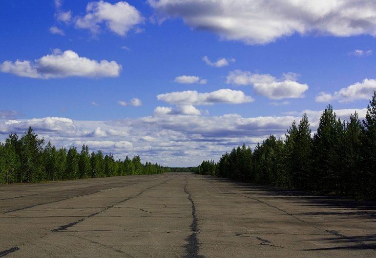 Заброшенный аэродром Гирвас