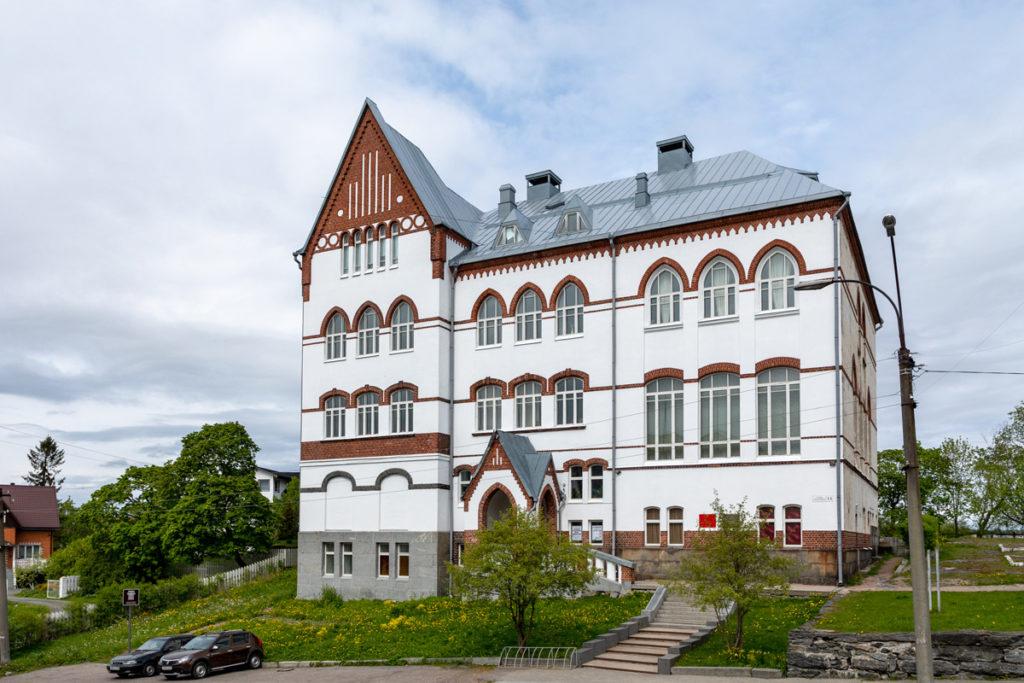 Здание Сортавальской женской школы