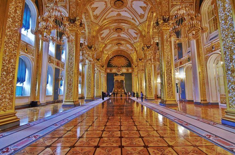Андреевский зал Большого кремлевского дворца