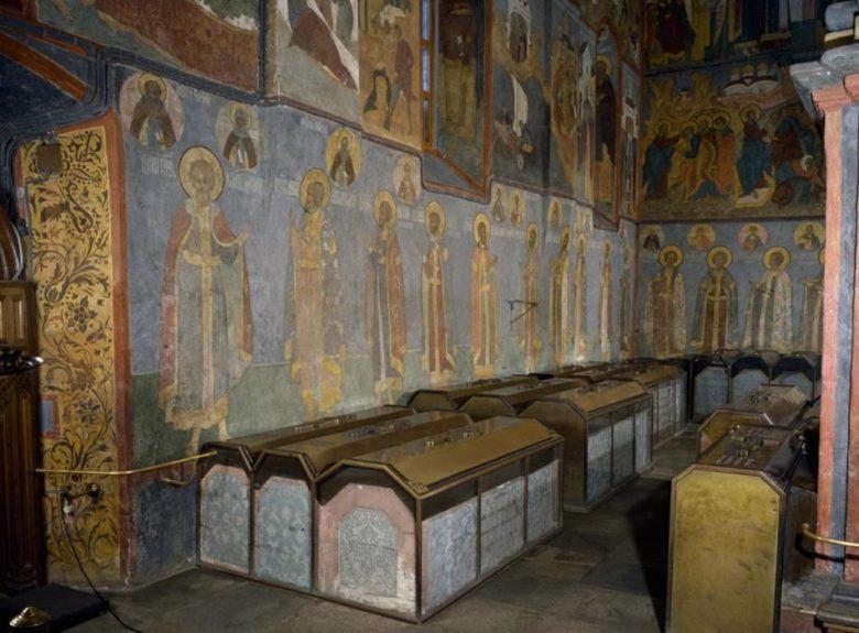 Архангельский собор усыпальница