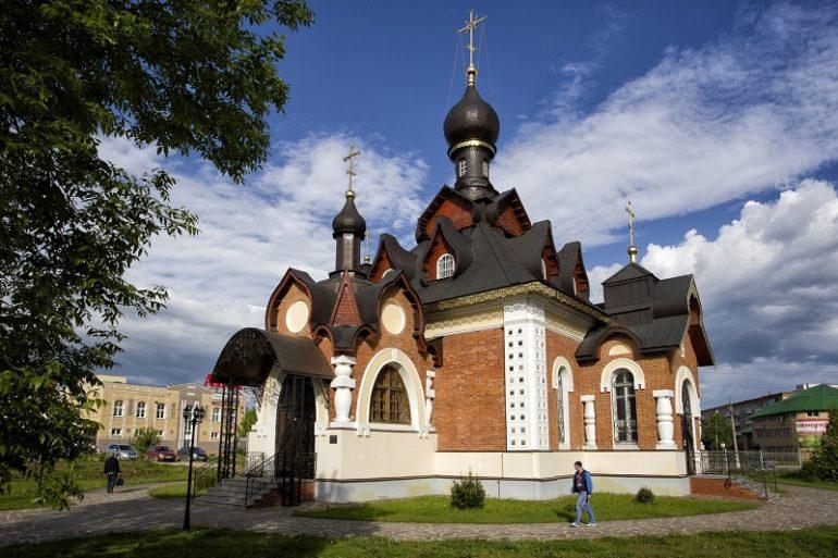 Церковь Серафима Саровского Александров