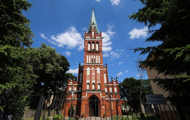 Костел святого Бруно Черняховск