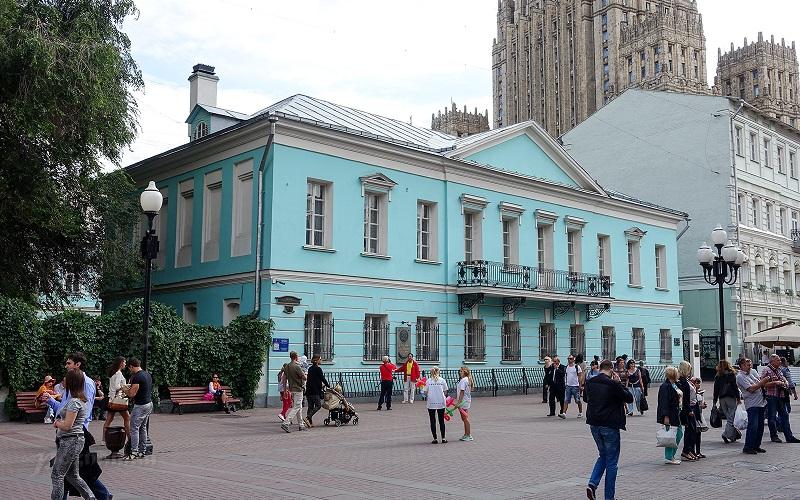 Музей-квартира Пушкина на Арбате