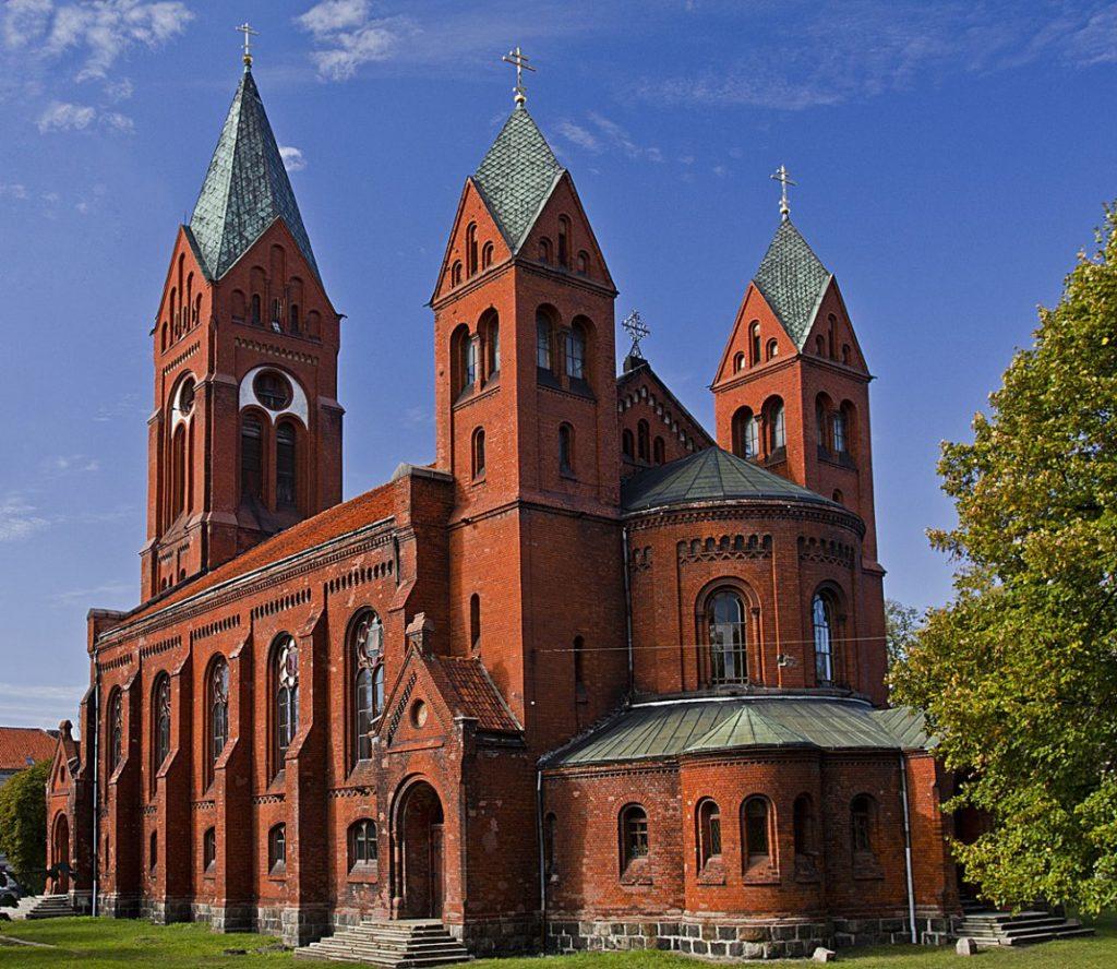 Свято-михайловский собор Черняховск