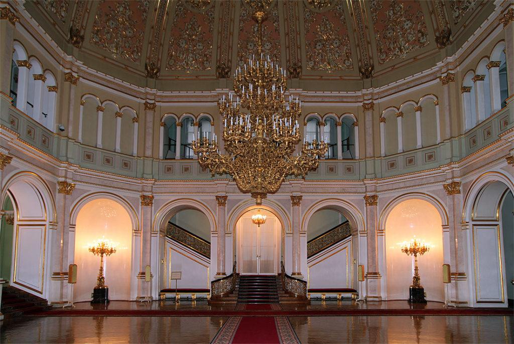 Владимирский зал Большого кремлевского дворца