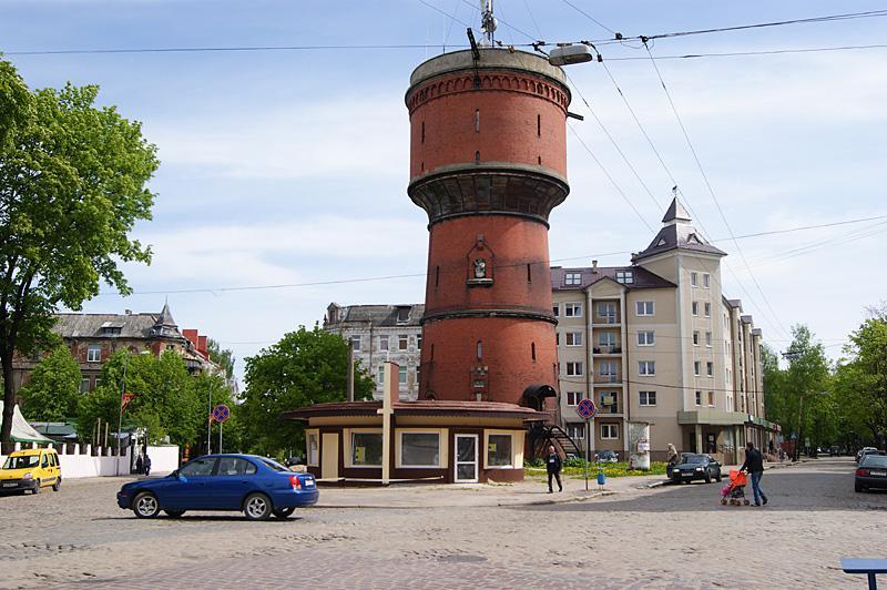 Водонапорная башня Черняховск