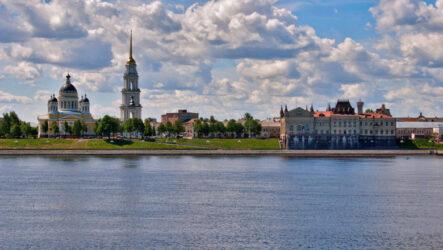Достопримечательности Рыбинска: Мать-Волга и историческая архитектура