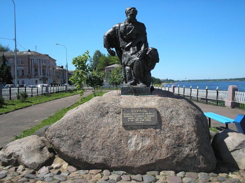 Памятник бурлаку Рыбинск