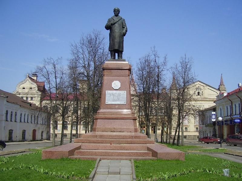 Памятник Ленину Рыбинск