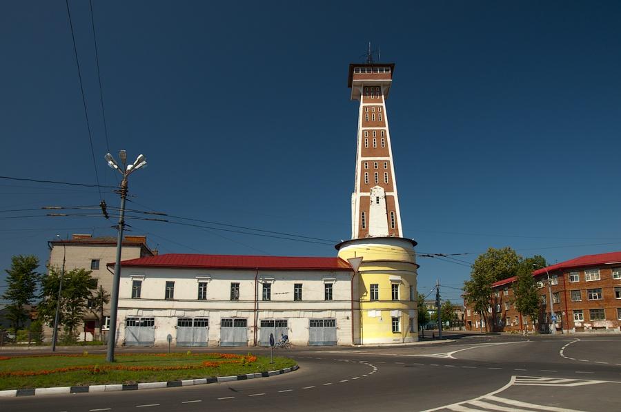 Пожарная каланча Рыбинск