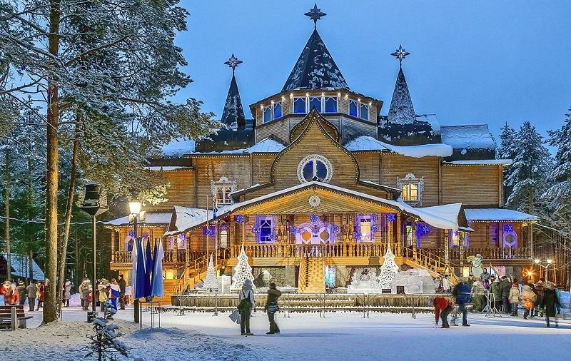 Терем Дед Мороза Великий Устюг