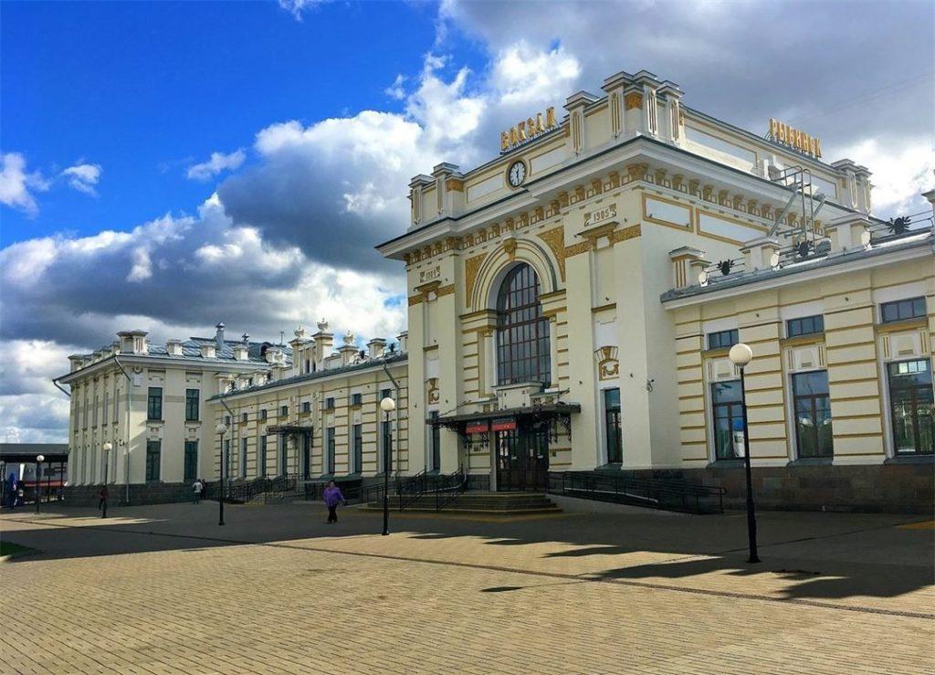Вокзал Рыбинск