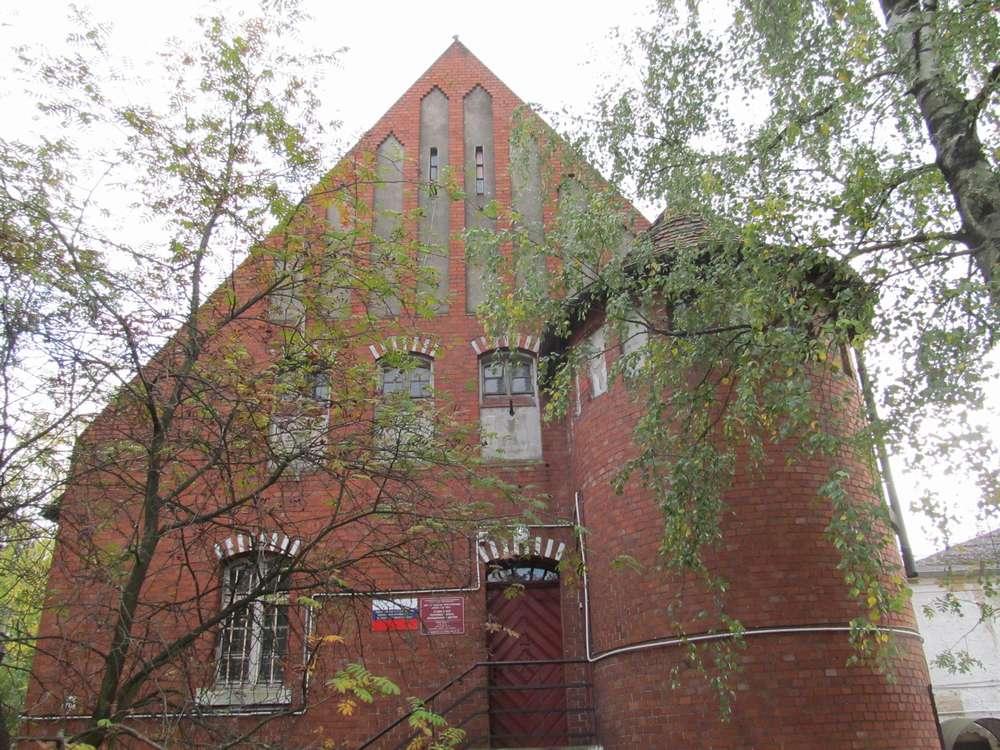 Здание тюрьмы Правдинск