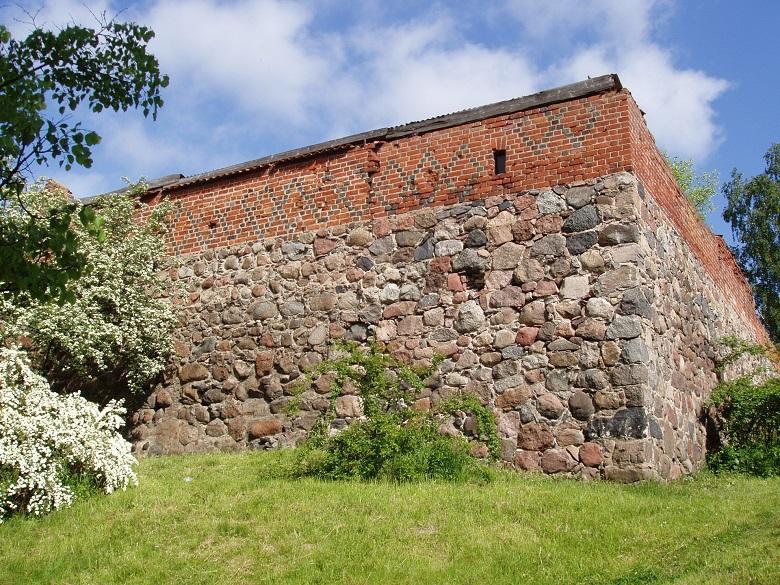 Крепостная стена Правдинск