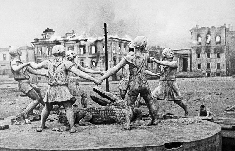 Фонтан в Сталинграде
