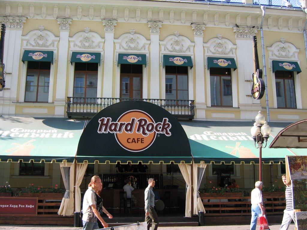 Hard rock кафе москва
