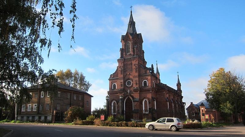 Костел святого Розария Владимир