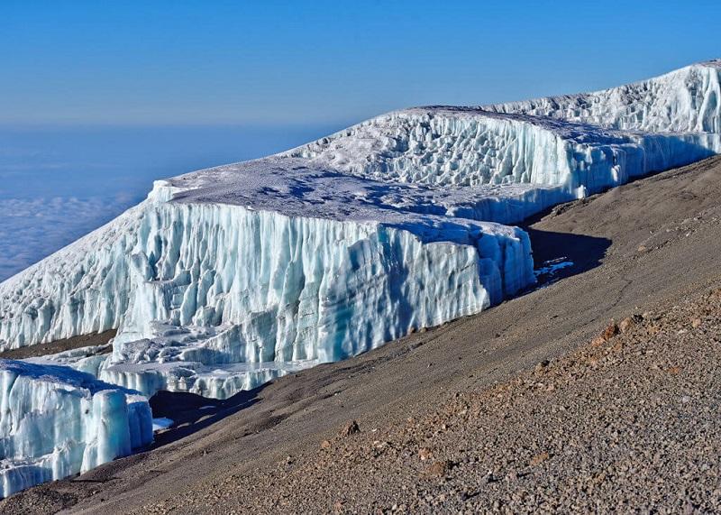 Ледник Килиманджаро