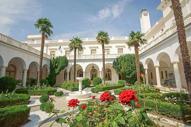 Ливадийский дворец Итальянский дворик