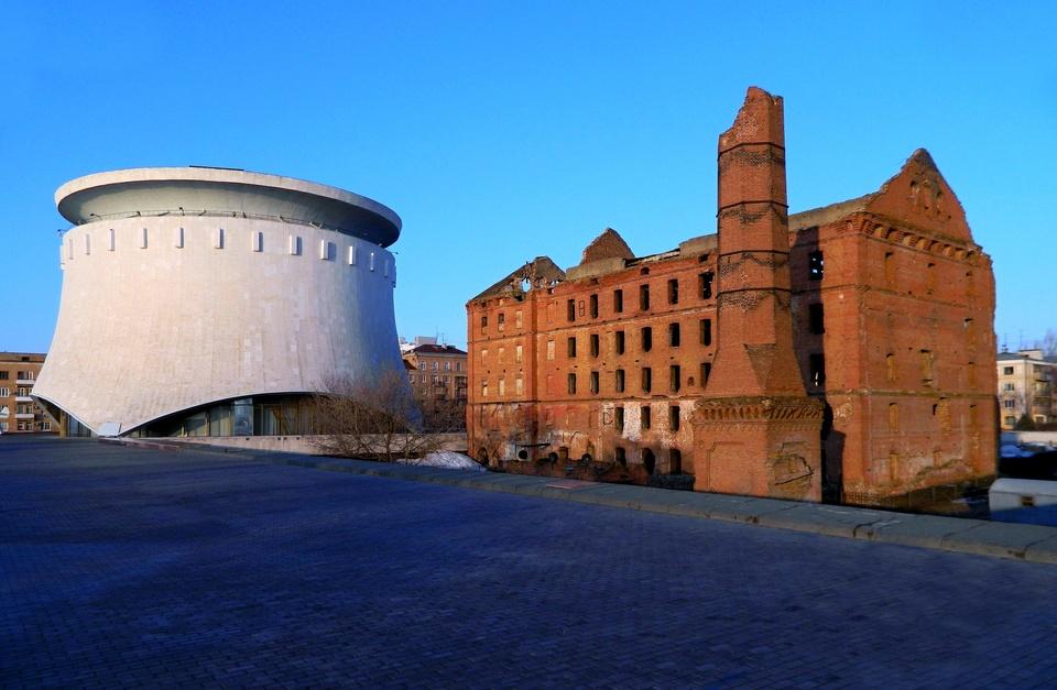 Музей-панорама «Сталинградская битва». Мельница Гергардта