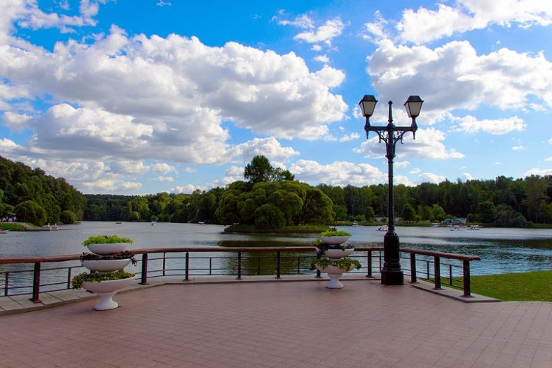 Парк в Царицыно