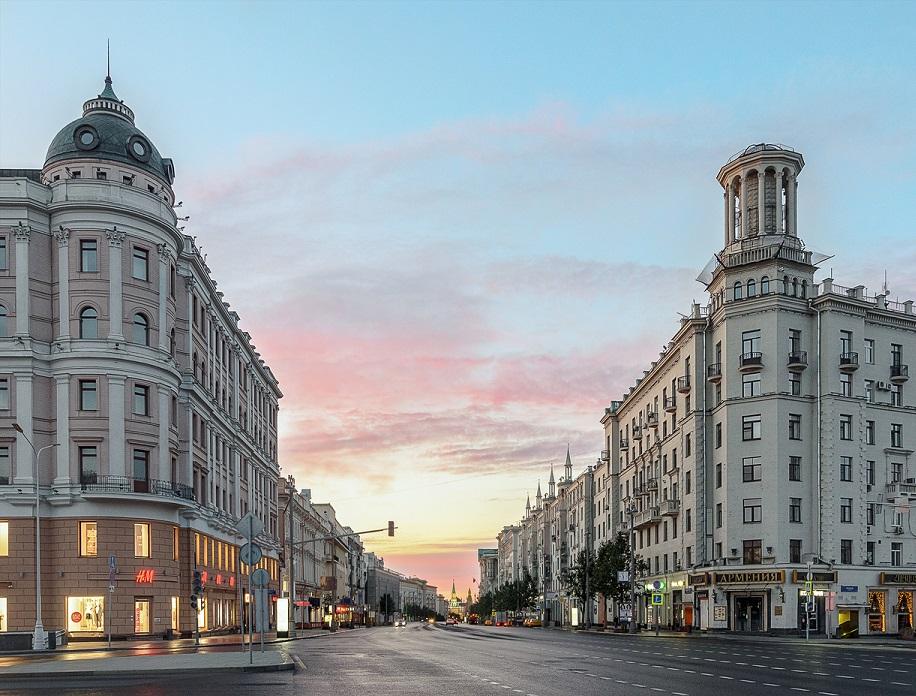 Тверская улица Москва
