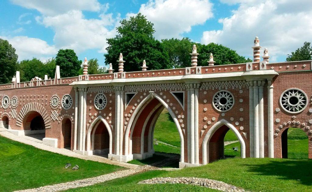 Большой мост через овраг Царицыно