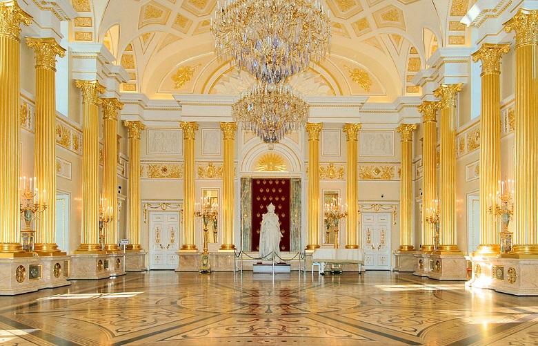 Екатерининский зал Царицыно