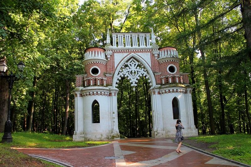 Фигурные ворота Царицыно