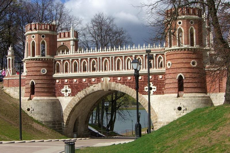 Фигурный мост Царицыно