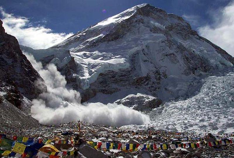 Лавина Эверест 2015 год
