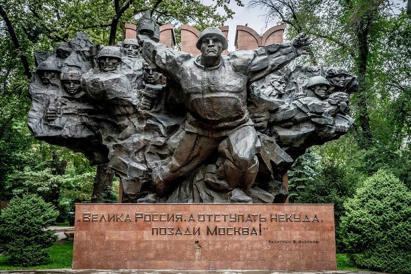 Мемориал 28 панфиловцев Алма-Ата
