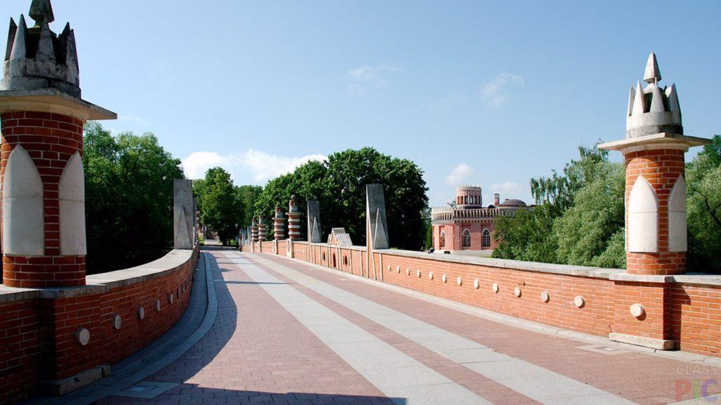 На Большом мосту в Царицыно