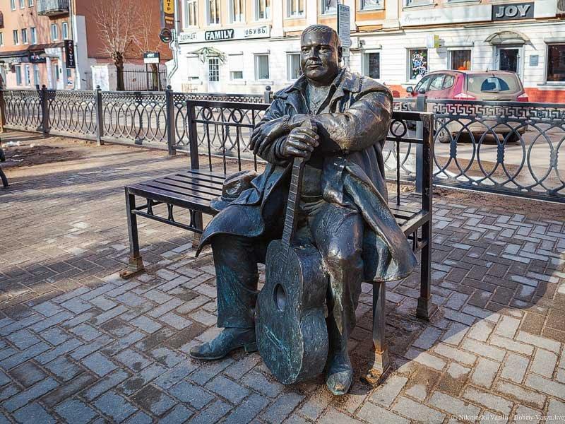 Памятник Михаилу Кругу Тверь