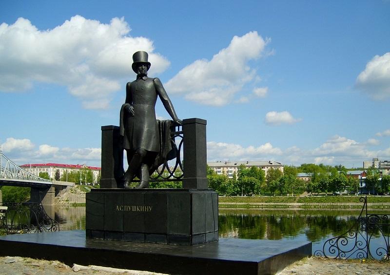 Памятник Пушкину А.С. Тверь