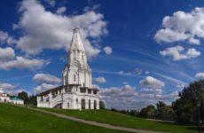Парк Коломенское:  Вознесенская церковь