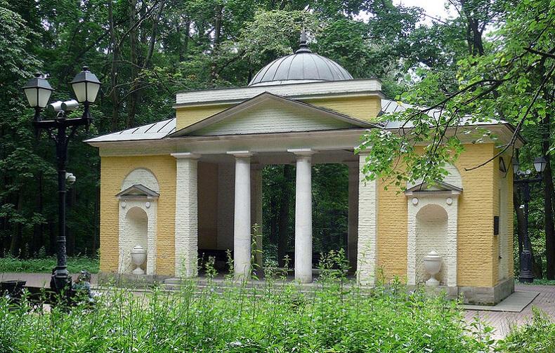 "Павильон ""Нерастанкино"", парк Царицыно"