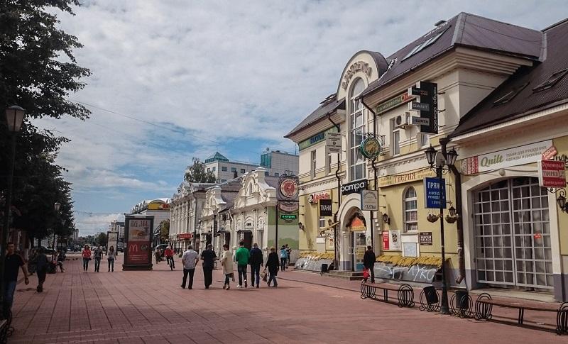 Трехсвятская улица Тверь