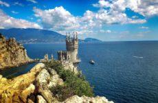 Достопримечательности Гаспры: Ласточкино гнездо, скала Парус, дворцы и античные руины