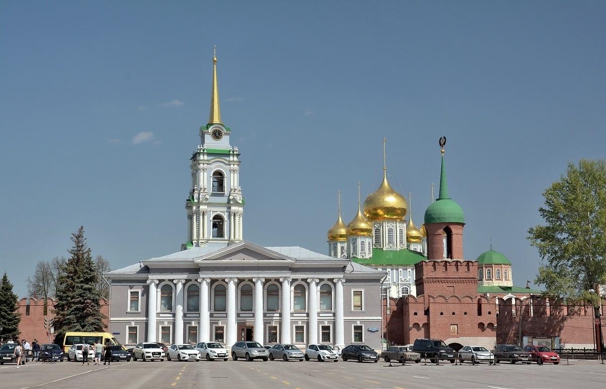 Что можно посмотреть в Туле Центр кремль музеи -